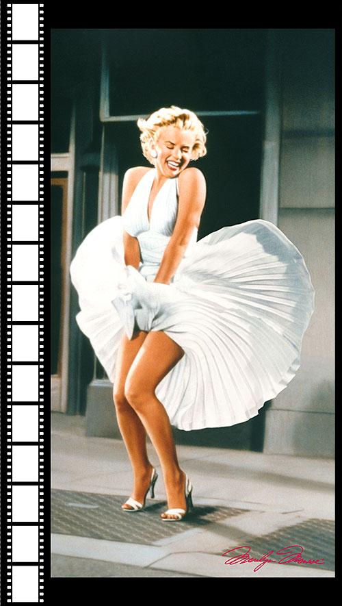 "Marilyn Monroe - The Seven Year Itch - 24"" PANEL - DIGITAL PRINT"