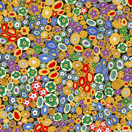 Gustav Klimt - Venetian Glass - Multi/Gold