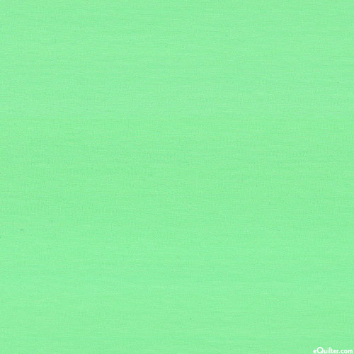 "Laguna Cotton Knit Jersey - 58"" - Solid Jade Green"
