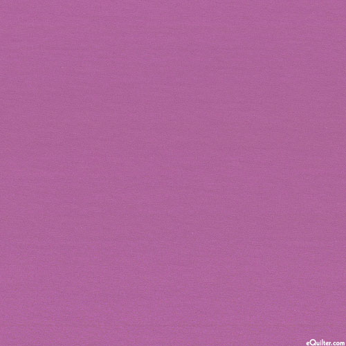 """Laguna Cotton Knit Jersey - 58"""" - Solid Orchid"""