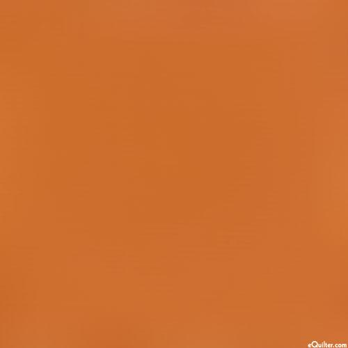 Orange - Kaufman Kona Solid - Cedar