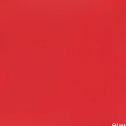 Red - Kaufman Kona Solid - Poppy Red