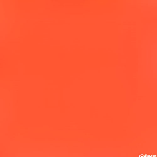 Orange - Kaufman Kona Solid - Tangerine