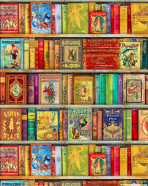 "Library of Rarities - Bookshelf - 36"" x 44"" PANEL - DIGITAL"