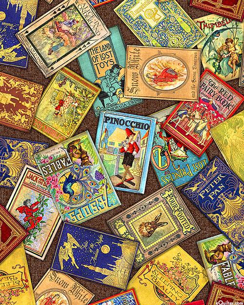 Library of Rarities - Childhood Stories - Walnut Brown - DIGITAL
