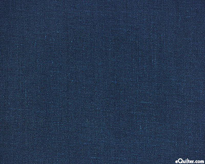 Essex Solid - Indigo Blue - COTTON/LINEN