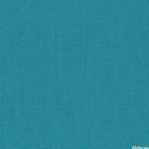 Essex Solid - Teal - COTTON/LINEN