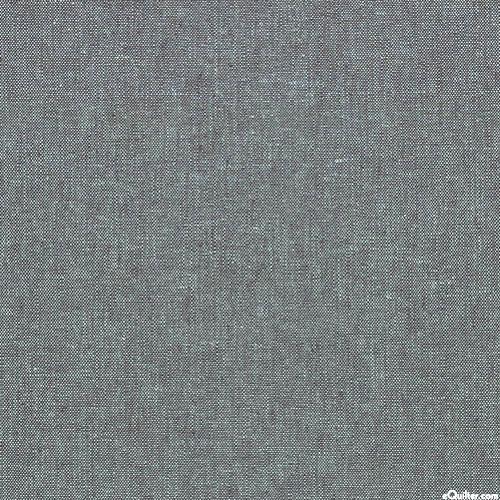 Essex Yarn-Dye Chambray - Slate Gray - COTTON/LINEN