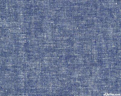 Essex Yarn-Dye Chambray - Dk Blue - COTTON/LINEN
