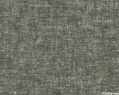 Essex Yarn-Dye Chambray - Black - COTTON/LINEN