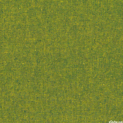 Essex Yarn-Dye Chambray - Jungle Green - COTTON/LINEN