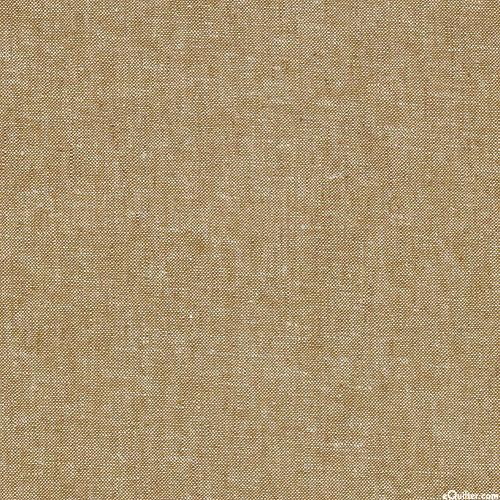Essex Yarn-Dye Chambray - Khaki - COTTON/LINEN