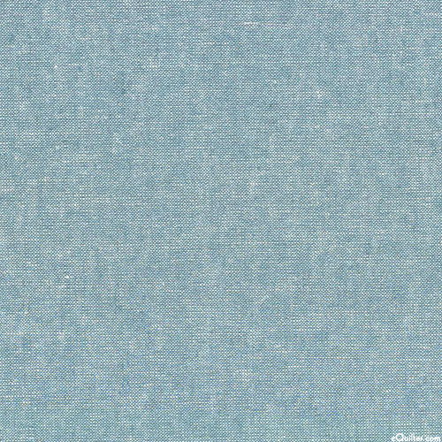 Essex Metallic Yarn-Dye - Water Blue/Silver - COTTON/LINEN