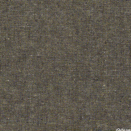 Essex Metallic Yarn-Dye - Black/Gold - COTTON/LINEN