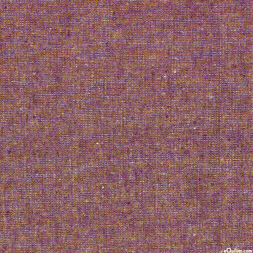 Essex Metallic Yarn-Dye - Burgundy/Gold - COTTON/LINEN