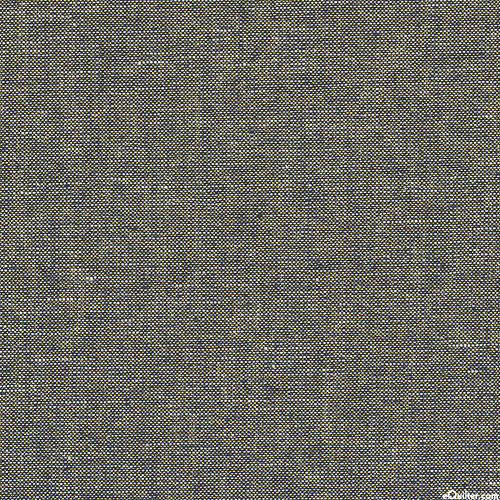 Essex Metallic Yarn-Dye - Dk Storm Blue/Gold- COTTON/LINEN
