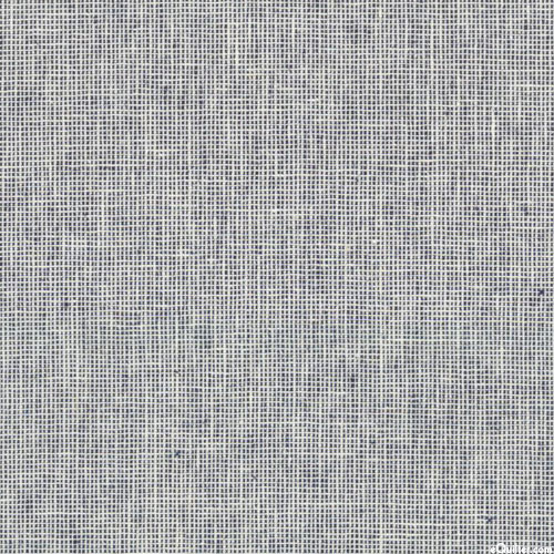 Essex Homespun Yarn-Dye - Ivory/Indigo - COTTON/LINEN