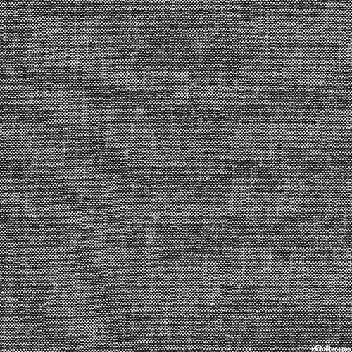 Essex Canvas Yarn-Dye - Black - COTTON/LINEN