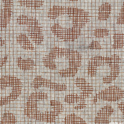 Polk Yarn-Dye - Leopard Spots - Pecan - COTTON/LINEN