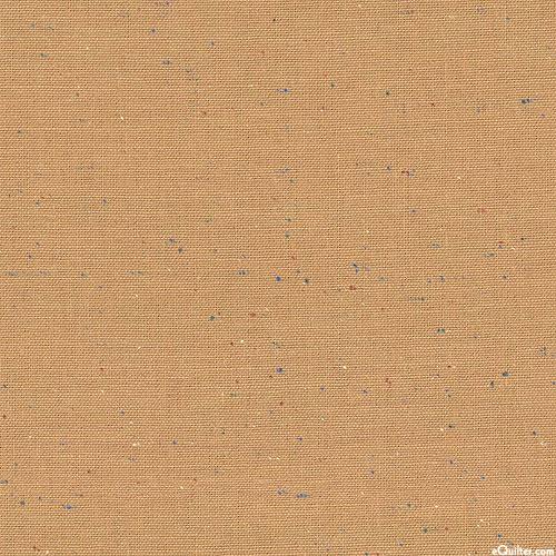 Essex Speckle Yarn-Dye - Toffee Brown - COTTON/LINEN