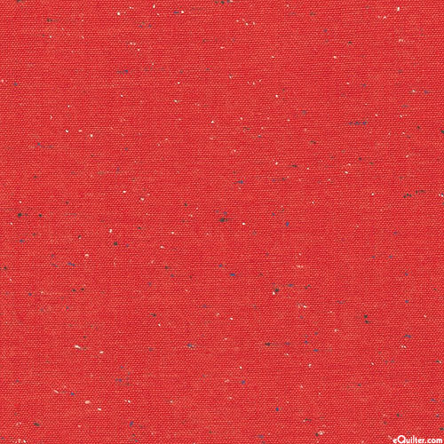 Essex Speckle Yarn-Dye - Paprika Red - COTTON/LINEN