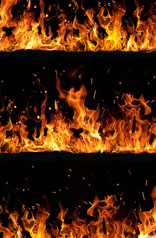 Blaze - Endless Inferno Stripe - Black