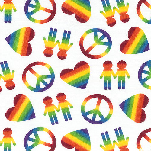 Peace, Love & Pride - Love Wins - White