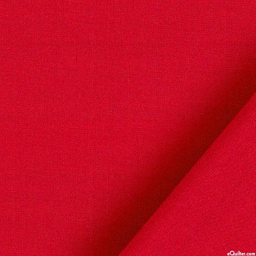 """Radiance - Crimson Red - SILK/COTTON - 43"""" WIDE"""