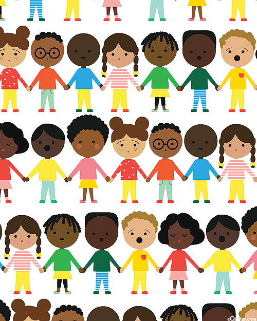See Us, Hear Us, Love Us - Children Together - White
