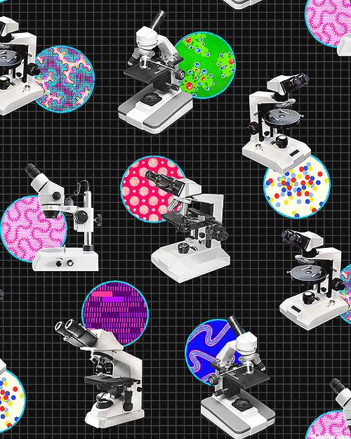 Science Fair 3 - Microscopic Views - Black - DIGITAL