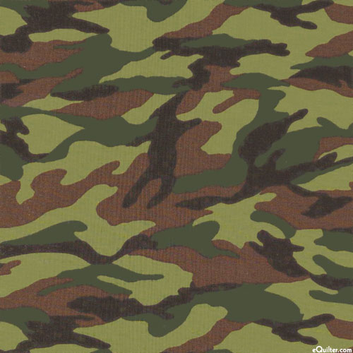 Japanese Import - Sevenberry Army Camouflage - Olive Green