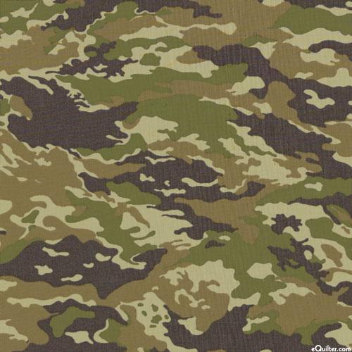 Japanese Import - Sevenberry Mini Camouflage - Olive Green