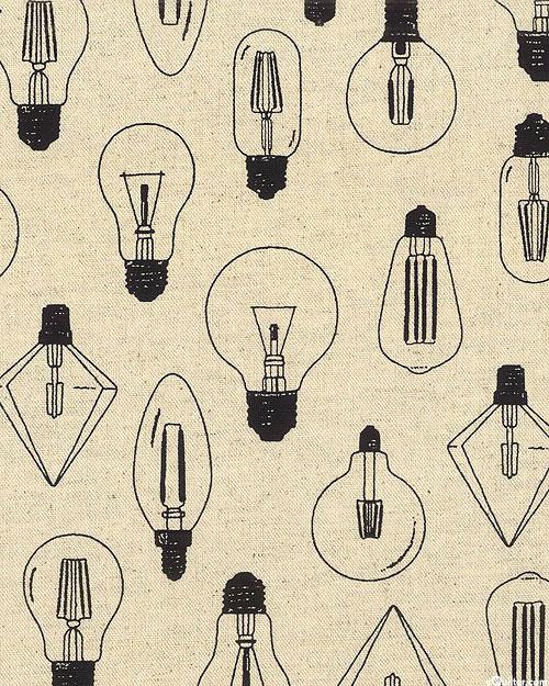 Japan Import - Vintage Lightbulbs - Natural - COTTON/FLAX