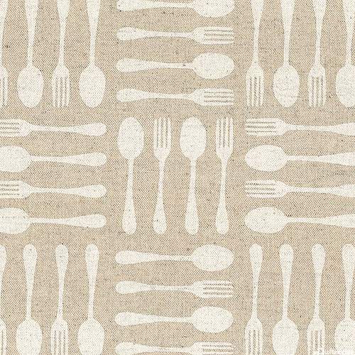 Japanese Import - Cutlery Collections - White - COTTON/LINEN