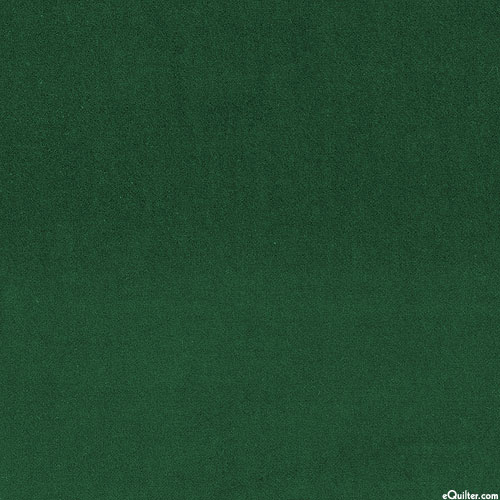 """Lush Velveteen - Forest Green - 42"""" WIDE"""