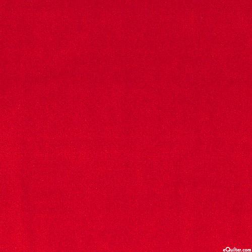 """Lush Velveteen - Scarlet Red - 42"""" WIDE"""