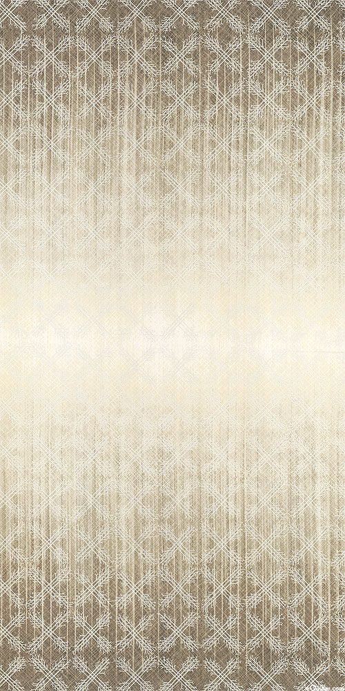 Winter Shimmer 2 - Rustic Harlequin - Sand/Pearl