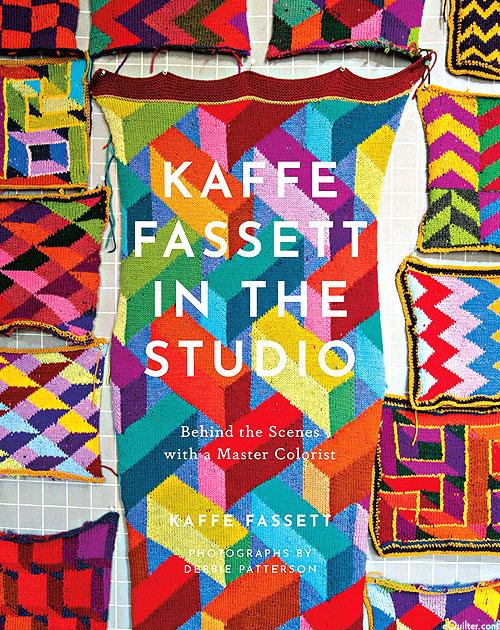 Kaffe Fassett In the Studio - SIGNED COPY