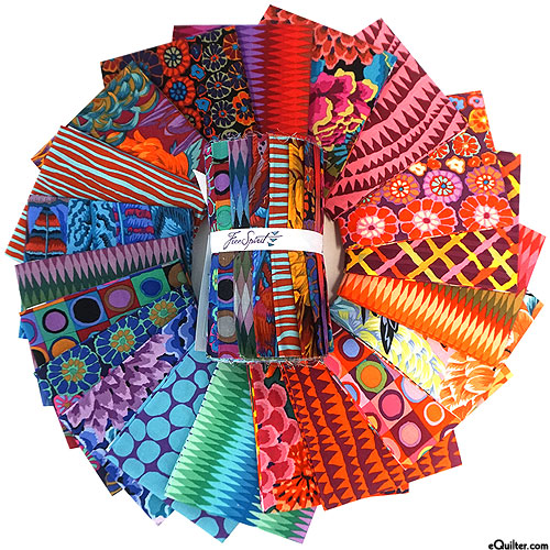 "Kaffe Fassett Collective Fall 2018 - 6""  STRIP ROLL - Night"