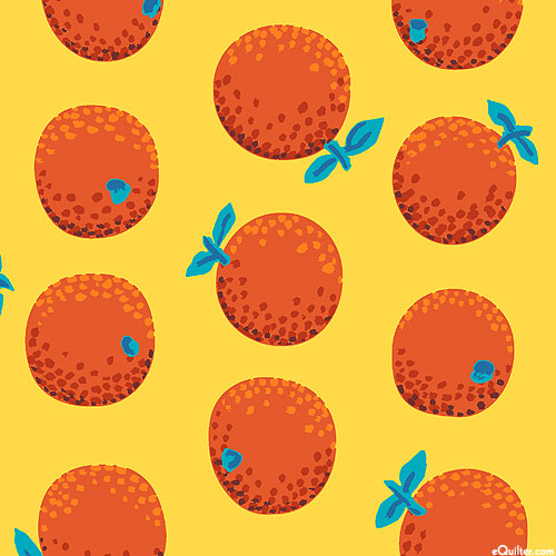 Kaffe Collective - Oranges - Sun Yellow