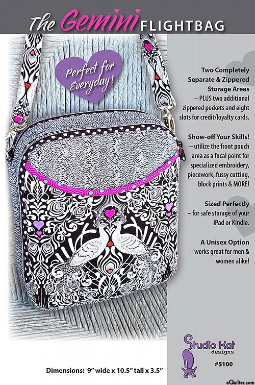 The Gemini Flightbag - Pattern by Studio Kat Designs