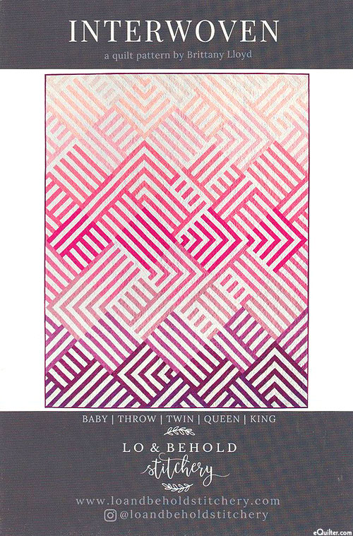 Interwoven - Quilt Pattern by Brittany Lloyd