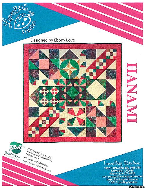 Hanami - Block of the Month Pattern by Ebony Love