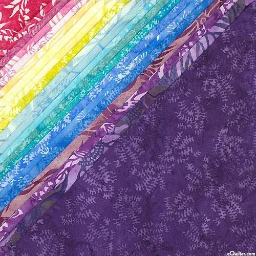 """Island Batik - Floral Wonders - 10"""" Squares"""