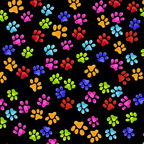 Cool Cats Paws - Black