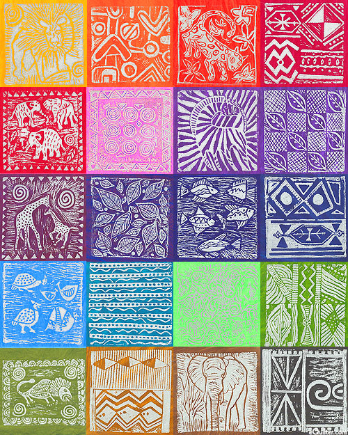 South African Silver Metallic Stamped Hand-Dyes - Swatch Packet