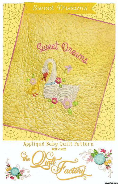 Sweet Dreams - Applique Quilt Pattern by Deb Grogan