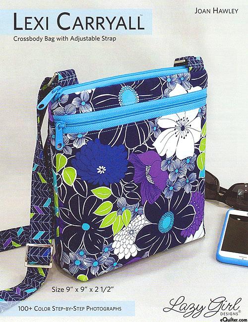 Lexi Carryall - Crossbody Bag Pattern by Joan Hawley