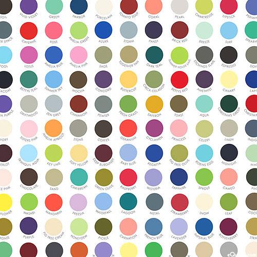 My Favorite Color Is Moda - Bella Solids Dots - White - DIGITAL