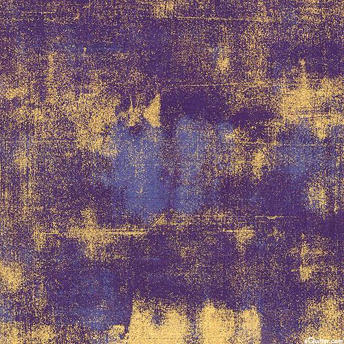 Grunge - Urban Gesso - Eggplant Purple/Gold